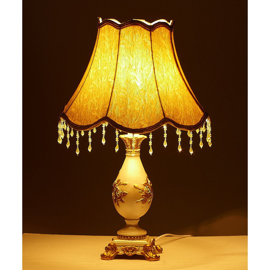[SHOPEE TRỢ GIÁ] Đèn ngủ cao cấp phong cách HOÀNG GIA - Kèm bóng LED chuyên dụng
