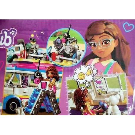 BỘ LEGO GIRLS CLUB BẠN GÁI VÀ XE BÁN HÀNG DI ĐỘNG 200 CHI TIẾT [SỈ RẺ]BÁN RẺ UY TÍN