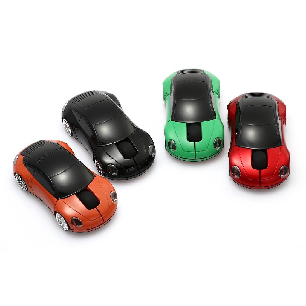Chuột máy tính USB 2.0 không dây 2.4ghz hình xe hơi độc đáo