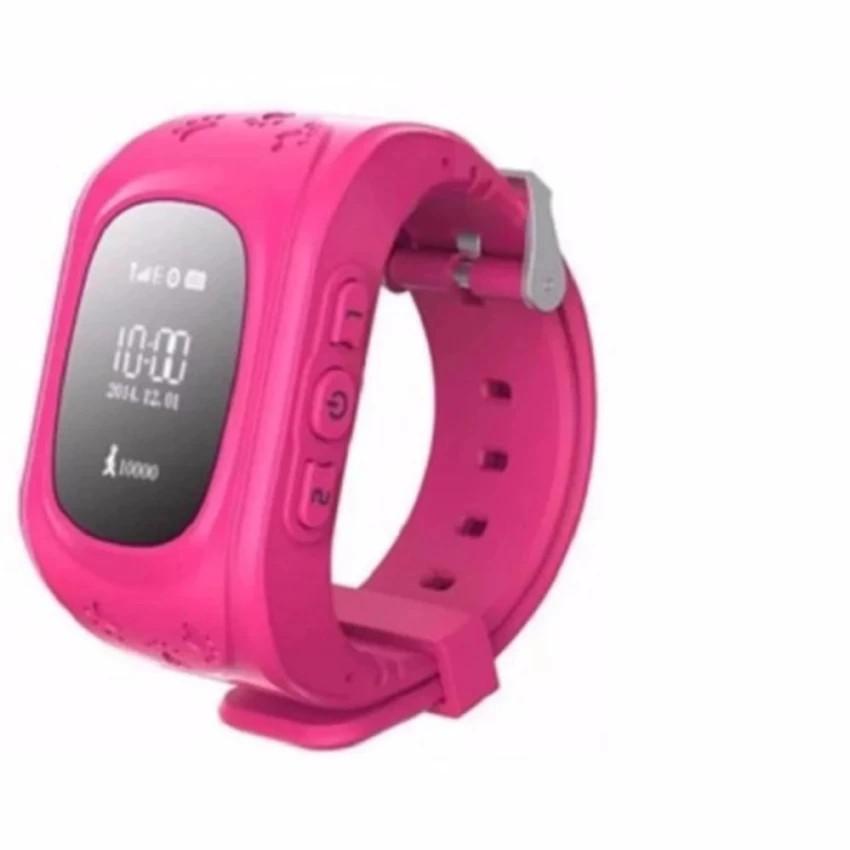 Đồng hồ định vị trẻ em giám sát thông minh ( hồng)