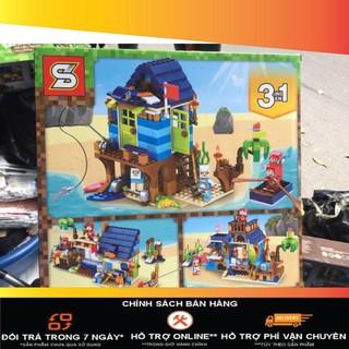 [Giá-sỉ] Lego my world minecraft 1167- 3 in 1