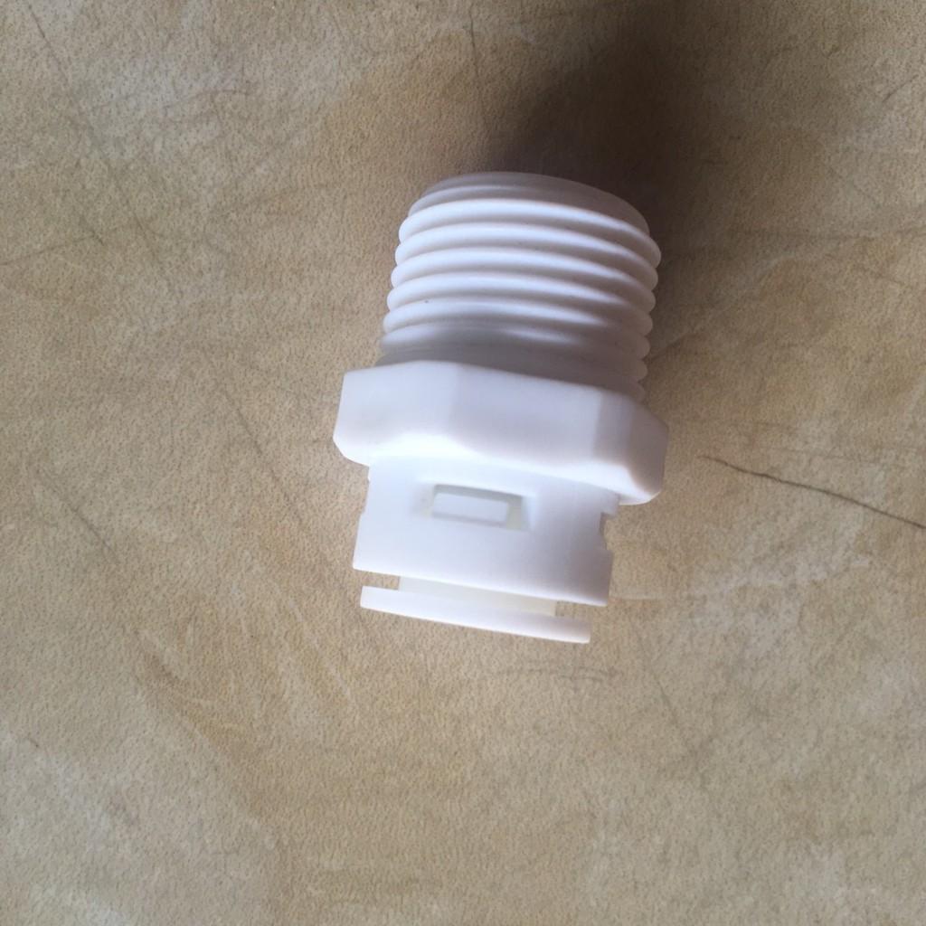 Cút nối ren ngoài 21 ra ống 6mm - 10mm