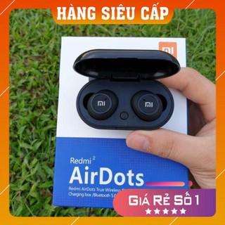 [ FREE SHIP ] Tai Nghe Bluetooth 5.0 AirDots Redmi 2, chất âm ấm, Bass-treble rõ ràng, cách âm tốt bảo hành 12 tháng thumbnail