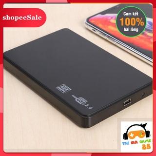 (Hàng Mới Về) Box ổ cứng USB 2.0 dùng cho ổ HDD SSD 2.5 inch làm ổ di động thumbnail
