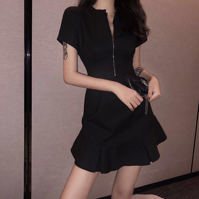 [Mã WASEPRN hoàn 20% xu đơn 99k] Đầm nữ 💖FREESHIP💖 Giảm 10k nhập mã [ DAM NU ] 💖 Váy đen Hàn Quốc hàng đẹp