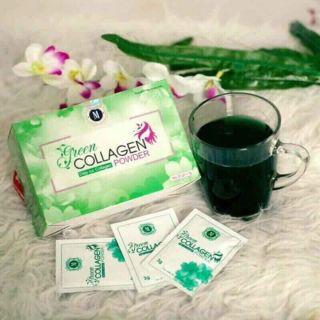 Diệp lục COLAGEN uống đẹp da bổ sung nội tiết tố