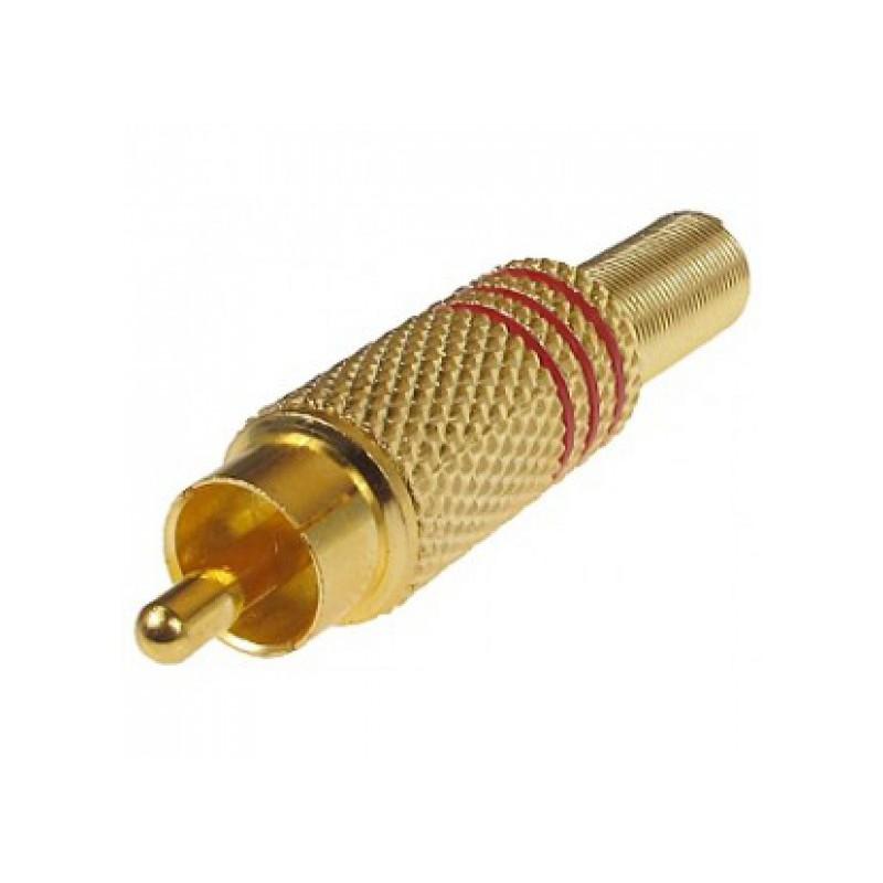 Jack Audio RCA kim loại chân hàn - 1 cặp
