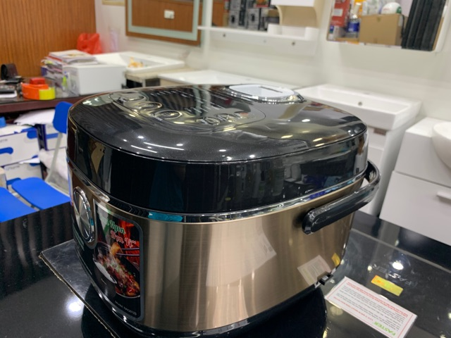 Nồi cơm điện tử Nagakawa NAG0123, dung tích 1.5L với 10 chức năng nấu và giữ ấm cơm, bảo hành 12 tháng chính hãng