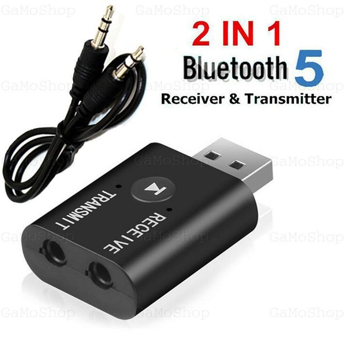 Usb Bluetooth 5.0 YET-TR6 Thu Và Phát Bluetooth Âm Thanh Stereo 2 Chức Năng