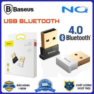 [Tiện ích] USB Bluetooth 4.0 BASEUS hỗ trợ Aptx dùng cho máy tính để bàn hoặc laptop KHÔNG CẦN CHẠY DIRVER