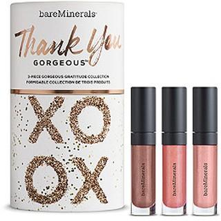 bareMinerals - Set 3 Cây Son bareMinerals - Thank You Gorgeous 3-Piece Gorgeous Gratitude Collection