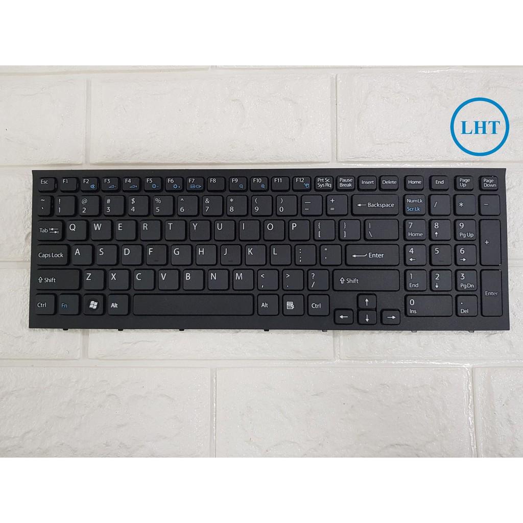 Bàn Phím Laptop Sony EB VPCEB VPC EB VPC-EB Series sẵn KHUNG màu ĐEN Nhập Khẩu – bảo hành uy tín Giá chỉ 190.000₫