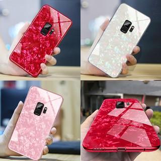Ốp lưng tráng gương sang trọng cho ed Samsung Galaxy S8 S8Plus S9 S9Plus Note8 Note9 Case Hard Cover Glass Casing