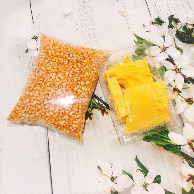 Set ngô bắp rang bơ(1kg ngô và 500gr bơ)