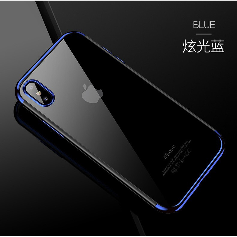 Soft Cover For iPhone XS Max Case Plating Cases iPhone XR