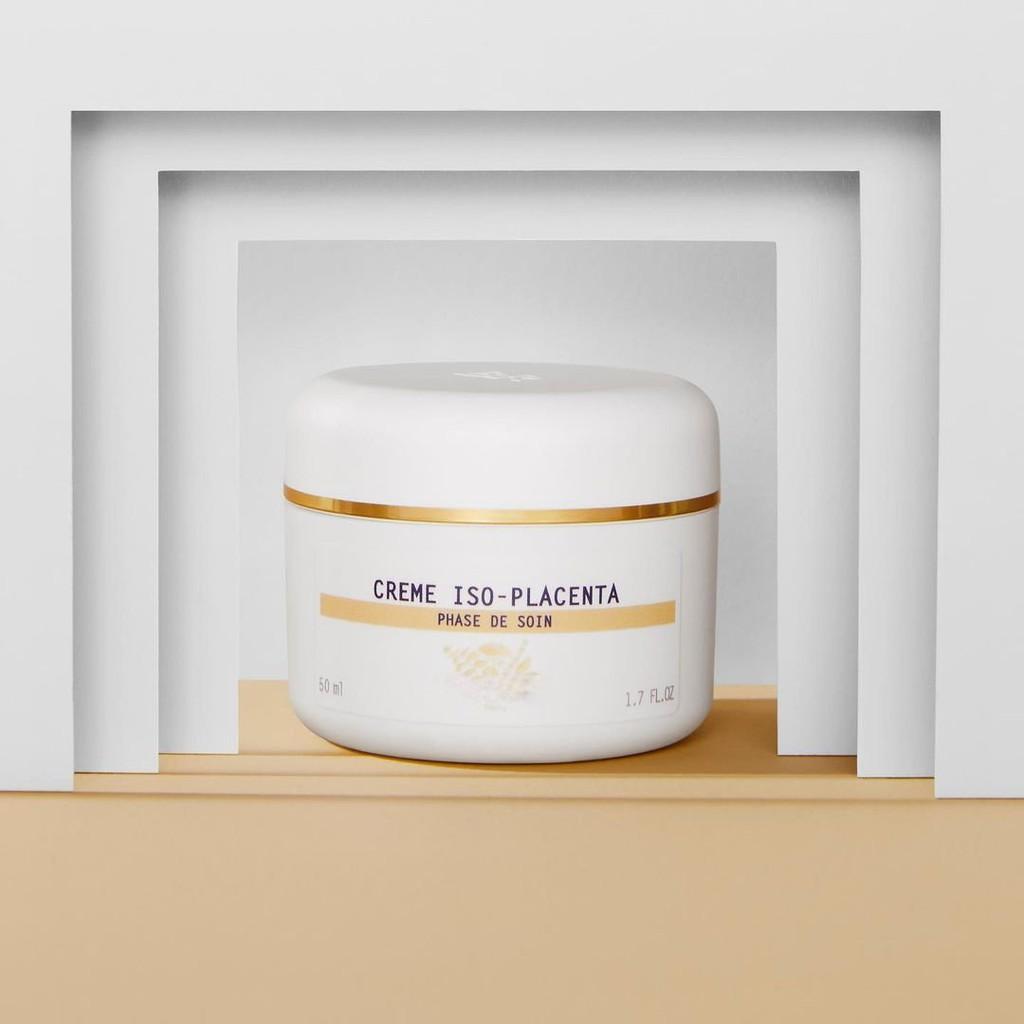 Creme Iso-Placenta] Kem tái tạo và phục hồi lành thương lành sẹo cho da mụn  nhạy cảm vượt trội Crème Iso-Placenta BR   Shopee Việt Nam