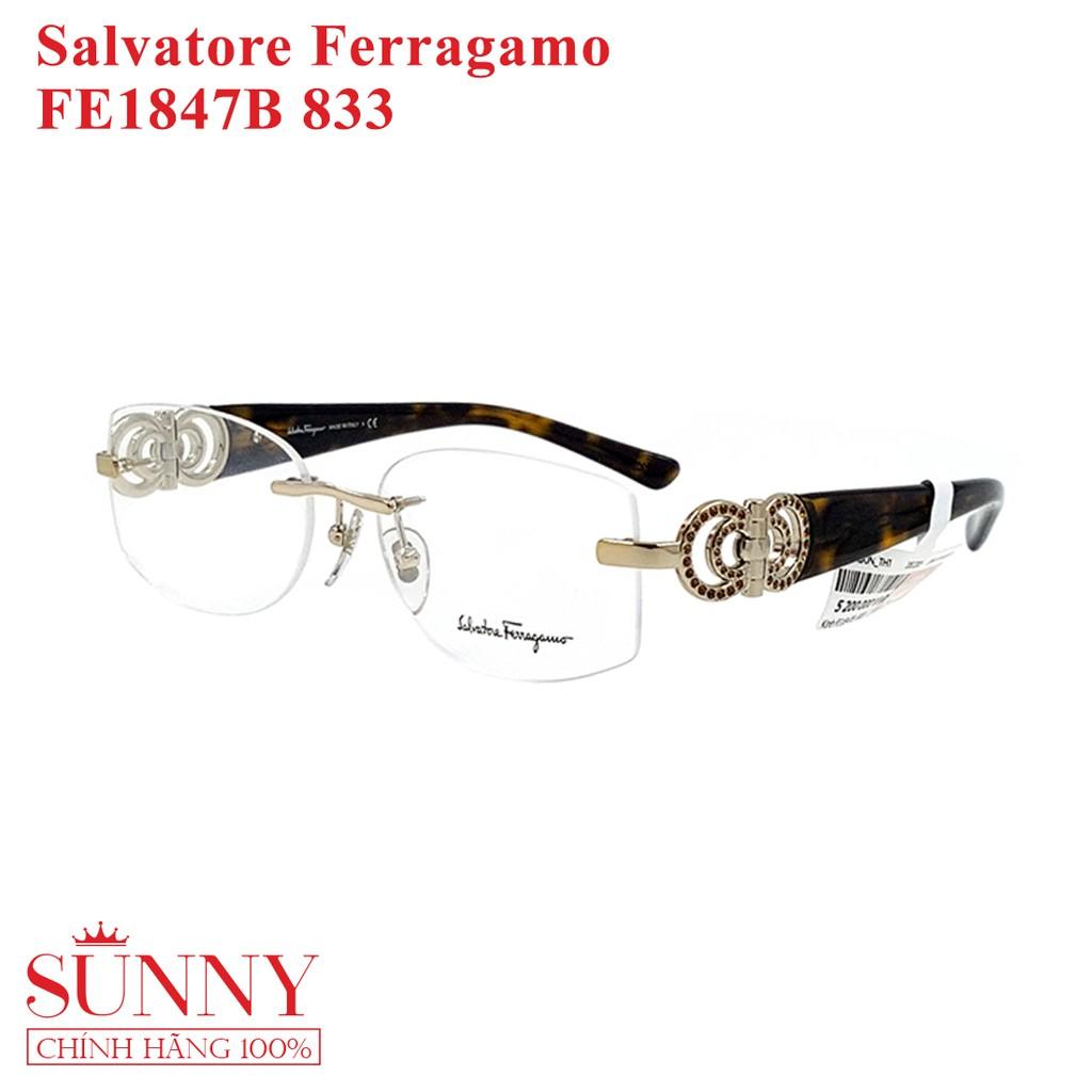 FE1847B 833 – Gọng kính Salvatore Ferragamo, sp chính hãng Korea, bảo hành toàn quốc