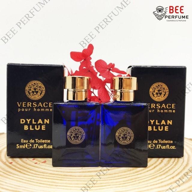 Nước Hoa Mini Versace Pour Homme Dylan Blue EDT 5ml chính hãng cho nam [GIÁ TỐT]