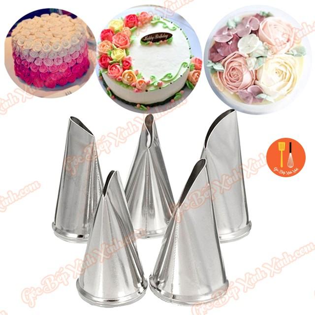 Bộ 5 đuôi bắt bông kem hoa hồng inox (đui kem) - 2759415 , 1067803455 , 322_1067803455 , 35000 , Bo-5-duoi-bat-bong-kem-hoa-hong-inox-dui-kem-322_1067803455 , shopee.vn , Bộ 5 đuôi bắt bông kem hoa hồng inox (đui kem)