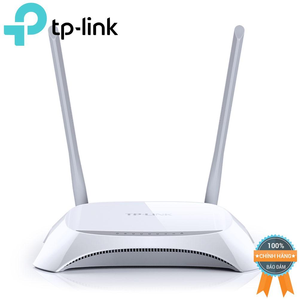 Bộ định tuyến 3G/4G TP-Link TL-MR3420 (Trắng) - 2602130 , 117891590 , 322_117891590 , 602000 , Bo-dinh-tuyen-3G-4G-TP-Link-TL-MR3420-Trang-322_117891590 , shopee.vn , Bộ định tuyến 3G/4G TP-Link TL-MR3420 (Trắng)