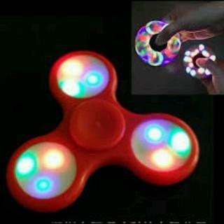 XẢ HÀNG – Con quay thư giãn Spinners 3 cánh có đèn led (vàng)
