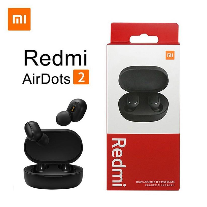 Tai Nghe Bluetooth Tai Nghe Xiaomi Redmi Airdots 2 TWS 5.0 Chống Ồn Tự Động Kết Nối Không Dây
