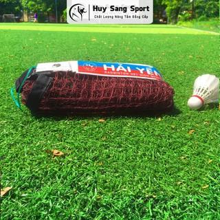 Lưới Cầu Lông Hải Yến Huy Sang Sport Tiêu Chuẩn Thi Đấu Cáp Bền Bản To Dài 6,7m Rộng 76cm thumbnail