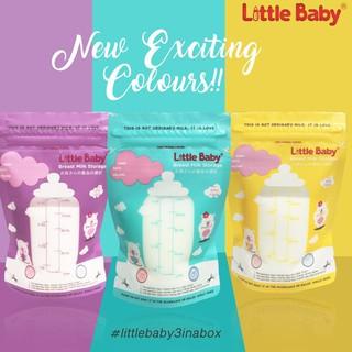 Túi Đựng Bảo Quản Sữa Mẹ Mới 120ml Kèm Cảm Biến Nhiệt Độ