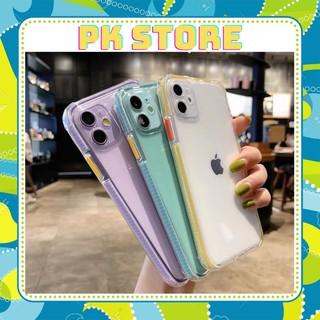 Ốp lưng Iphone BASIC viền màu chống trơn IPHONE 6plus/iphone 7plus/iphone x/iphone xs max/iphone 11/iphone 11pro max