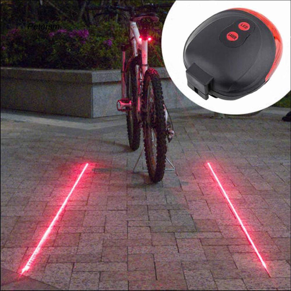 Đèn LED tín hiệu gắn đuôi xe đạp leo núi chuyên dụng chất lượng cao