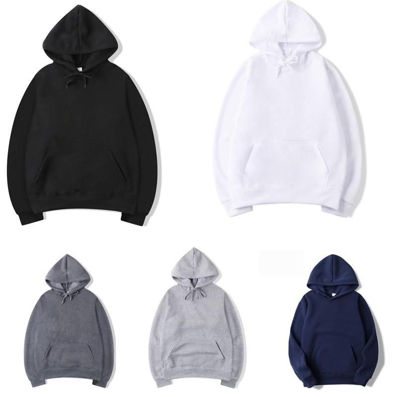 Adult Unisex Women Men Solid Basic Pullover Hoodie Sweater Sweatshirt Jumper Long Pants Jogger Tracksuit Set