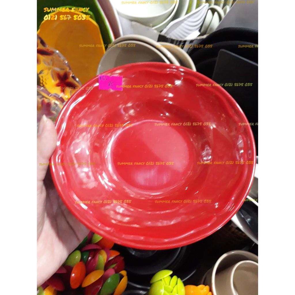 Dĩa bèo lòng sâu 17cm đựng súp- Plate