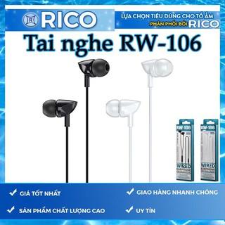 [FREESHIP]  TAI NGHE REMAX RW-106