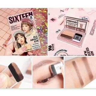 Phấn mắt hai màu Six Teen 16 Brand thumbnail