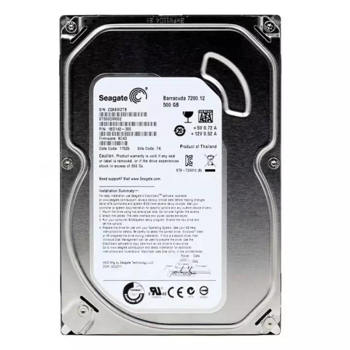 Ổ cứng máy tính - HDD 500GB Seagate