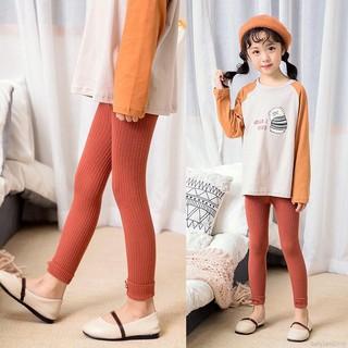 Quần legging đan len co dãn thời trang cho bé gái