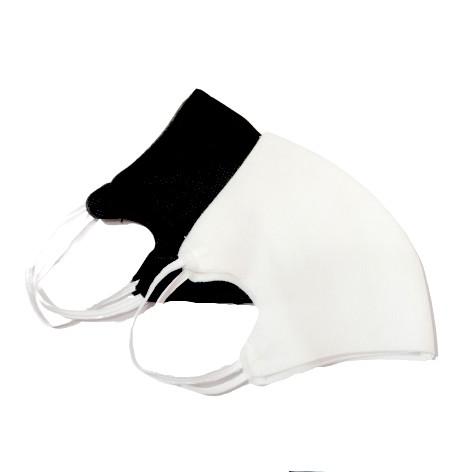 Combo 10 khẩu trang 3D 3 lớp màu trắng đen tái sủ dụng nhiều lần