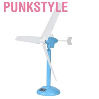 Punkstyle Children's Wind Driven Generator Detachable Science and Education Experimental Toy