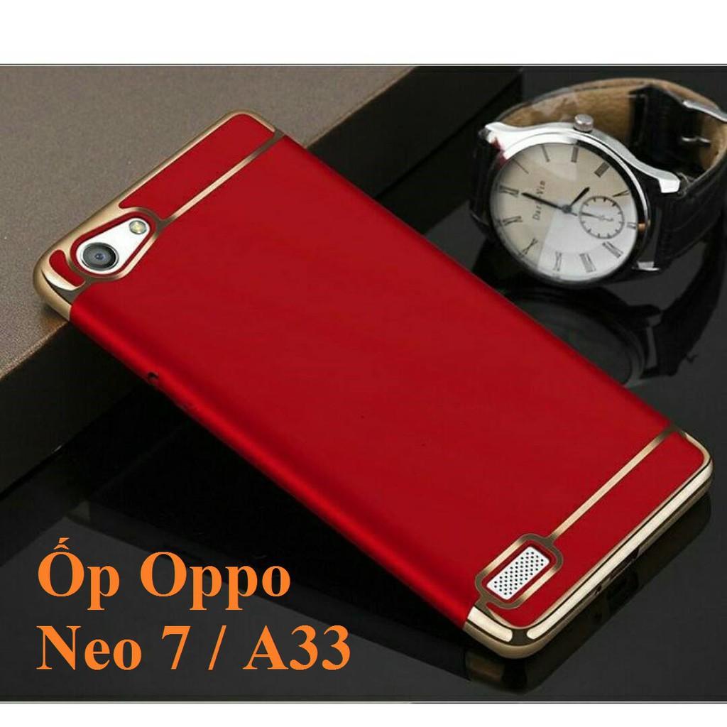 Ốp lưng cao cấp dnahf cho điện thoại oppo Neo7/A33 (đỏ)