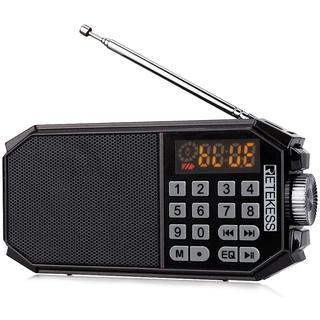 Radio Retekess TR610 Với Loa Bluetooth Không Dây Màu Đen Để Nghe Nhạc Mp3 Và Ghi Âm Rảnh Tay Có Giắc Cắm Tai Nghe thumbnail