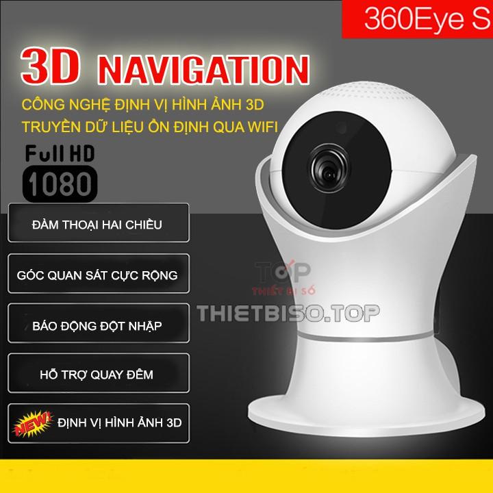 Camera ip wifi 3D 360 FULL HD 1080P