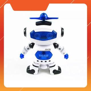 [CÓ SẴN] Đồ chơi Robot thông minh nhảy múa hát xoay 360 độ(Nhiều màu)