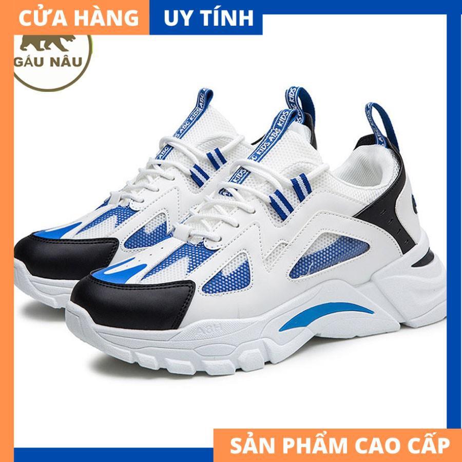 Giày sneaker VP553 đế độn thời trang Gấu Nâu chuyên giày nam [HÀNG CAO CẤP]