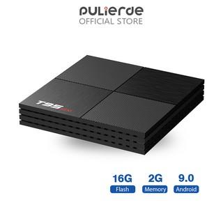 Đầu thu TV thông minh Pulierde cho Android 9.0 T95mini CPU Allwiner H6 RAM 2G Room 16G Ultra HD 6K