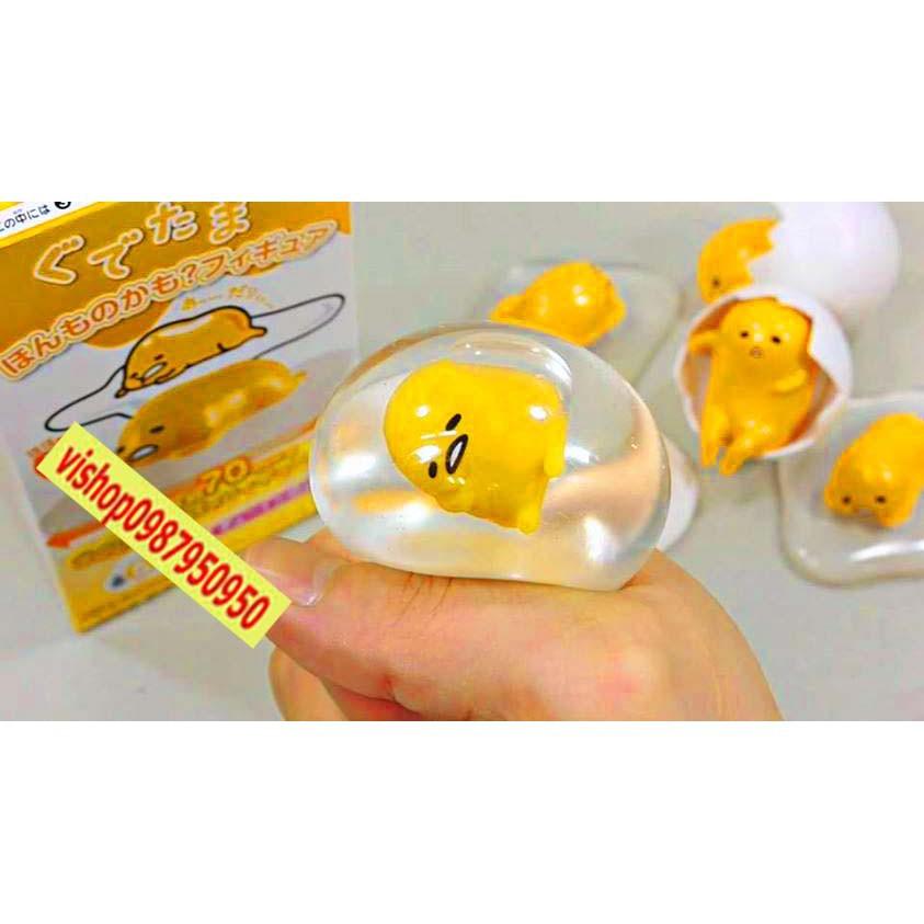 (B15)-Trứng bóp trút giận – GUDETAMA( hàng luôn sẵn )