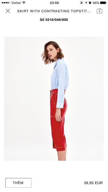Váy Zara 100% siêu chất, dễ kết hợp đồ