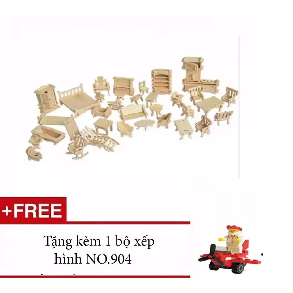 Bộ đồ chơi ghép hình 3D = gỗ, 184 chi tiết + tặng bộ ghép hình mini ( VRG007970 ) - 2998688 , 139451555 , 322_139451555 , 52000 , Bo-do-choi-ghep-hinh-3D-go-184-chi-tiet-tang-bo-ghep-hinh-mini-VRG007970--322_139451555 , shopee.vn , Bộ đồ chơi ghép hình 3D = gỗ, 184 chi tiết + tặng bộ ghép hình mini ( VRG007970 )