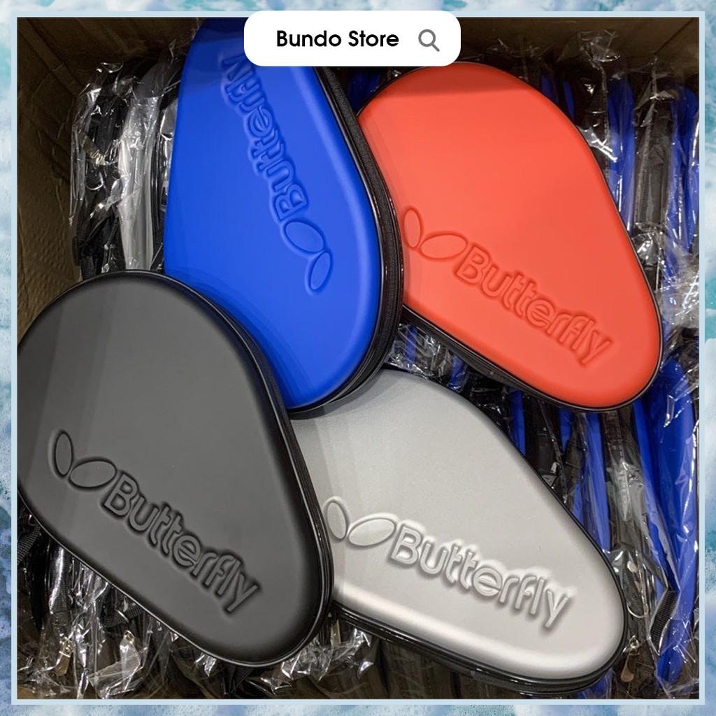Bao vợt bóng bàn Butterfly chính hãng túi đựng vợt bóng bàn 2 ngăn màu đen đỏ xanh bạc