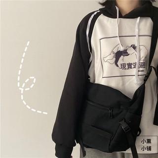 Túi canvas cỡ lớn - Túi đeo chéo Hàn Quốc - Túi xách nữ canvas