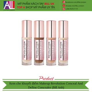 [TOP 1 SHOPEE] Kem che khuyết điểm Makeup Revolution Conceal And Define Concealer (Bill Anh) thumbnail